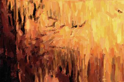 Blanchard Springs Caverns-arkansas Series 01 Art Print by David Allen Pierson