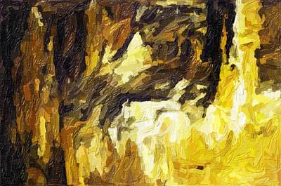 Blanchard Springs Caverns-arkansas Series 02 Art Print by David Allen Pierson