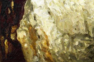 Blanchard Springs Caverns-arkansas Series 03 Art Print by David Allen Pierson