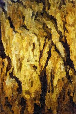 Blanchard Springs Caverns-arkansas Series 04 Art Print by David Allen Pierson