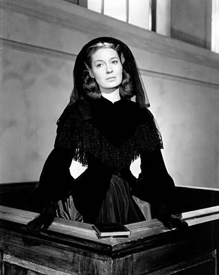 Blanche Fury, Valerie Hobson, 1948 Art Print by Everett