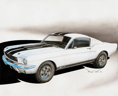 Blanco Shelby Art Print