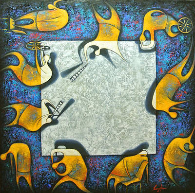 Painting - Blank by Hayk Matsakyan