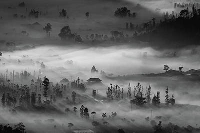 Temple Photograph - Blanket by Efraim Dastanta Ginting
