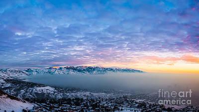 Blanket Of Smog Over Salt Lake City Original by Michael Ver Sprill