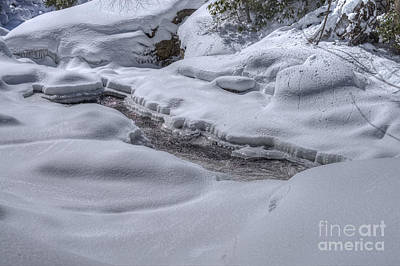 Photograph - Blanket Of Snow And Ice On River by Dan Friend