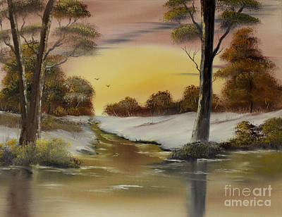 Cynthia-adams-uk Painting - Blanketed Dawn Sold by Cynthia Adams