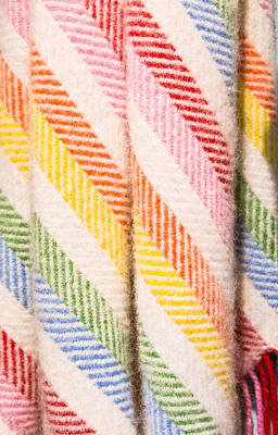 Throw Blanket Photograph - Blanklet by Tom Gowanlock