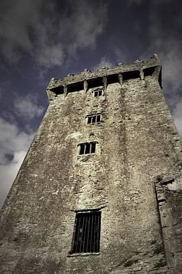 Photograph - Blarney Castle - The Keep by Nadalyn Larsen