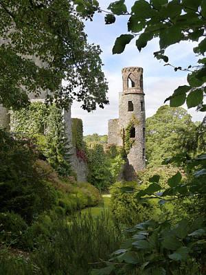 Towers Digital Art - Blarney Castle 2 by Mike McGlothlen