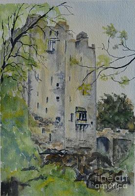 Blarney Castle Painting - Blarney Castle by Betty Mulligan