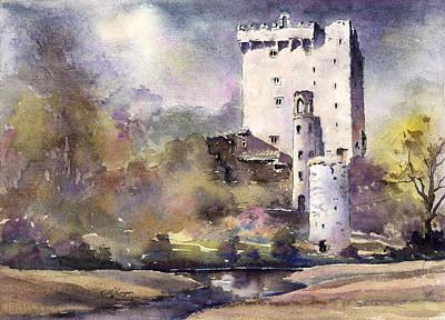 Blarney Castle Painting - Blarney Castle County Cork Ireland by Keith Thompson