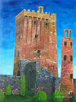 Blarney Castle Painting - Blarney Castle by Declan Leddy