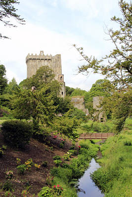 Photograph - Blarney Castle by Gladys Turner Scheytt