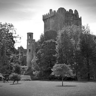 Square Art Digital Art - Blarney Castle by Mike McGlothlen