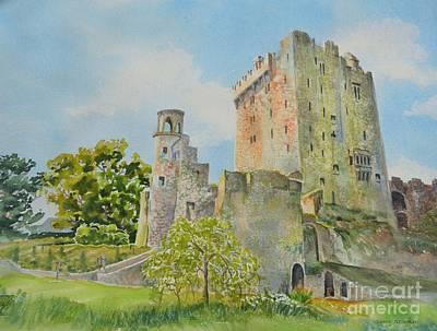 Blarney Castle Painting - Blarney_castle_1 by Nancy Newman