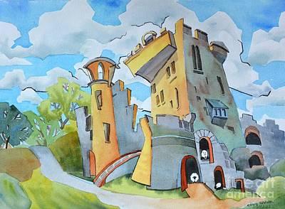 Blarney Castle Painting - Blarney_castle_ii by Nancy Newman