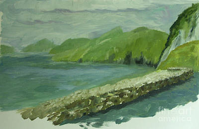 Stonewall Painting - Blaskets by Eileen Arnold