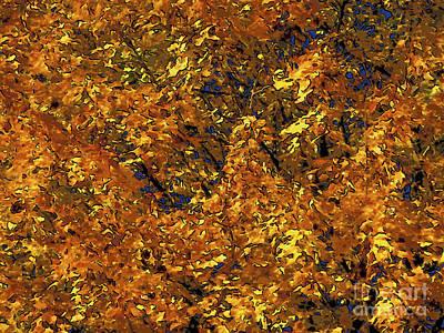 Blast Of Autumn Art Print