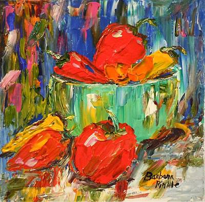 Painting - Blast Of Color by Barbara Pirkle