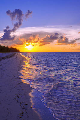 Turks And Caicos Islands Photograph - Blaze by Chad Dutson