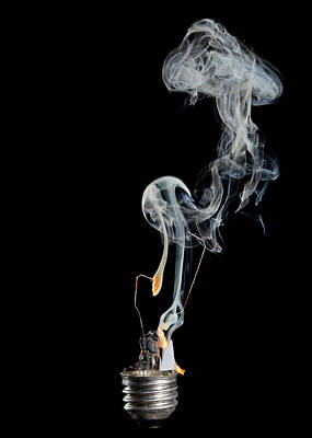 Blaze Of Glory Art Print by Robert Och
