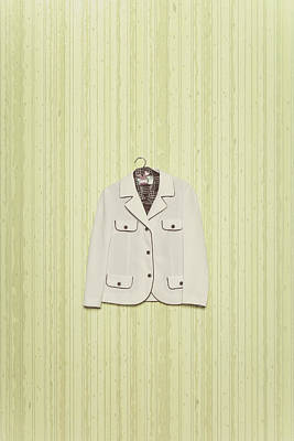 Coat Hanger Photograph - Blazer by Joana Kruse