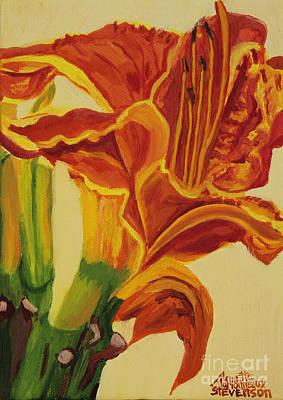 Painting - Blazing Glory by Annette M Stevenson