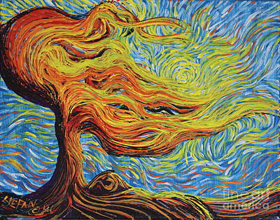 Painting - Blazing In The Light by Stefan Duncan