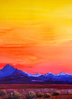 Painting - Blazing by Patricia Ragone