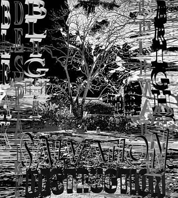 Conscience Digital Art - Bleak Renewal by Pharris Art