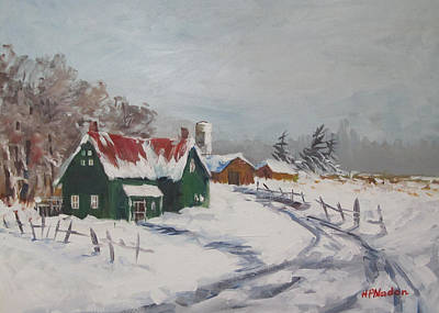 Painting - Bleak Winter by Heidi Patricio-Nadon