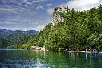Photograph - Bled Castle by Uri Baruch