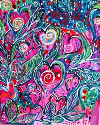 Oshun Wall Art - Painting - Bleed For Me by Ifeanyi C Oshun