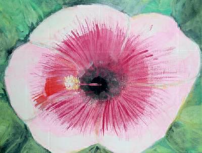 Bleeding Flower Art Print