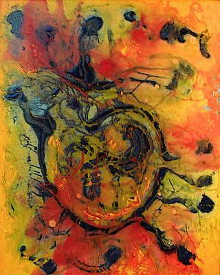 Painting - Bleeding Heart by Estefan Gargost