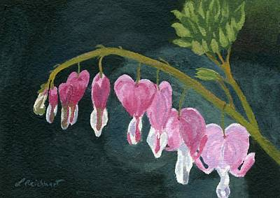 Painting - Bleeding Heart by Lynne Reichhart