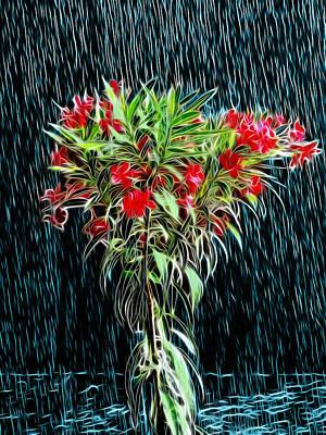 Blessed Rain Art Print by Carlos Vieira