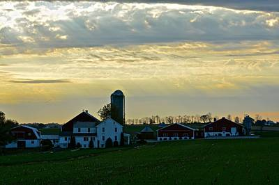 Photograph - Bless This Amish Farm by Tana Reiff