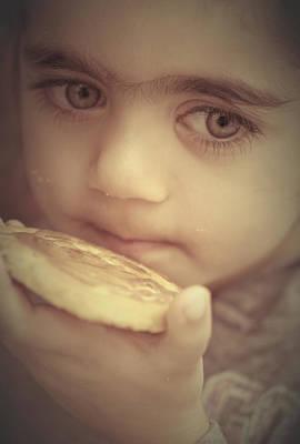 Little Girl Photograph - Bless This Child by The Art Of Marilyn Ridoutt-Greene