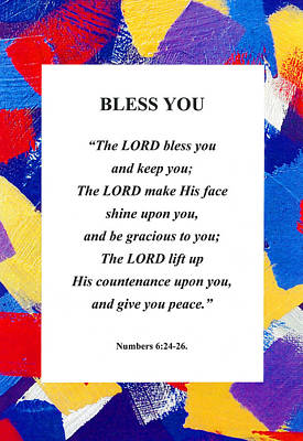 Photograph - Bless You Poster by David Clode
