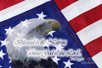 Photograph - Blessed Is The Nation Whose God Is The Lord by Jill Lang