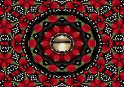 Blessings Mixed Media - Blessed Sunrise Pop Art by Pepita Selles