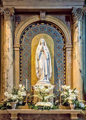 Photograph - Blessed Virgin Mary Chapel by Jemmy Archer
