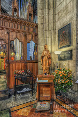Chapel Photograph - Blessed Virgin Mary by Ian Mitchell