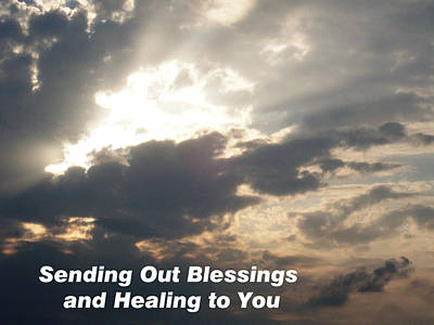 Photograph - Blessings And Healing by Belinda Lee