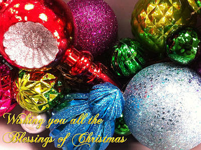 Photograph - Blessings Of Christmas by Robyn Stacey