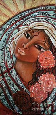 Blessings Of The Magdalene Art Print by Maya Telford