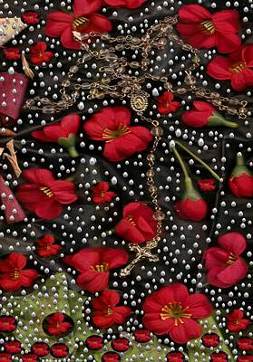 Blessings Mixed Media - Blessings Pop Art by Pepita Selles