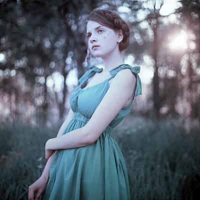 Contre-jour Photograph - Bleu Clair Et Sepia by Alexander Kuzmin